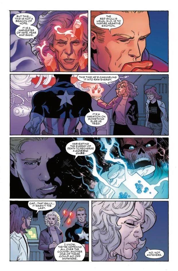 Vignettes from the next episode of Captain America (Marvel)