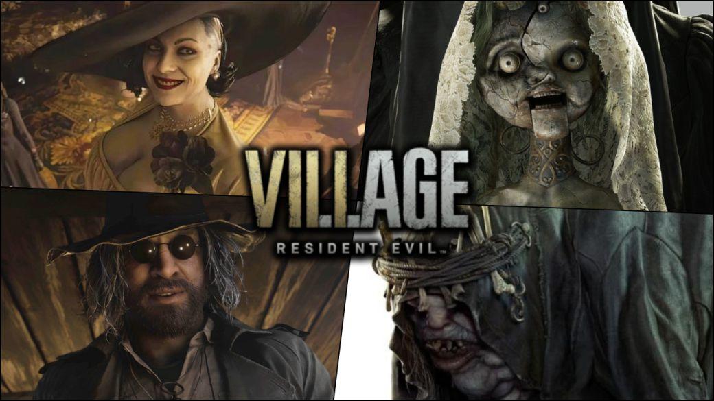 Resident Evil 8 Village |  Top villains revealed: Mother Miranda and more