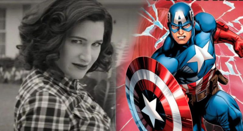 Captain America and Agatha Harkness of WandaVision work together to take down the Red Skull