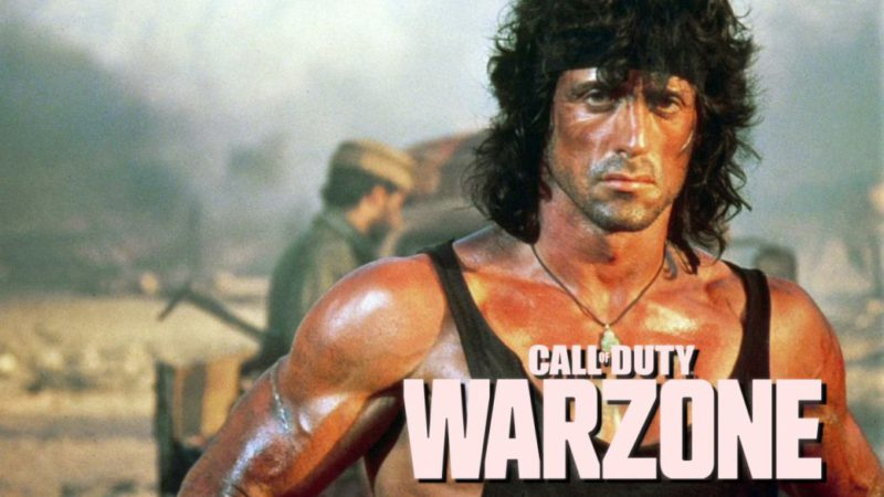 CoD Warzone Anticipates Rambo Arrival;  first images and date