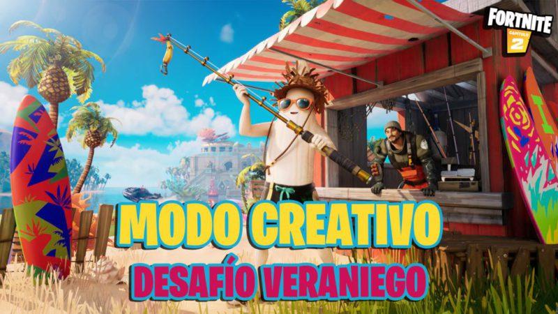 Fortnite Summer Challenge;  create custom modes in Creative