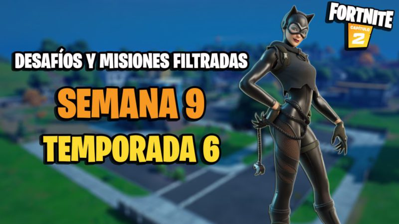 Fortnite Season 6: Week 9 Leaked Challenges and Missions
