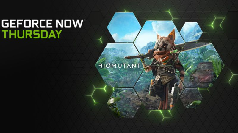 GeForce NOW to Receive Biomutant at Launch and Confirm More Titles