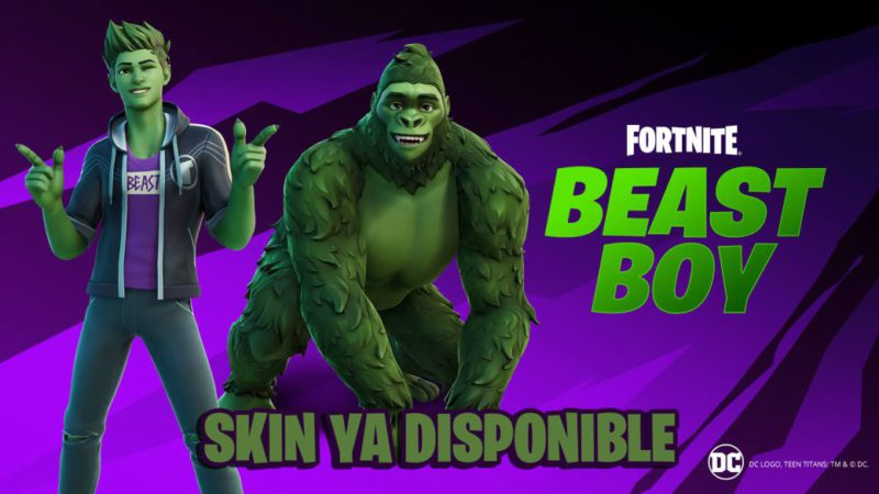 Fortnite: Beast Boy / Beast Boy skin now available;  price and contents