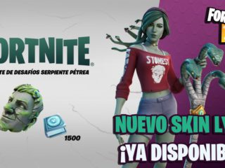 Fortnite: Stone Serpent Challenge Pack (Lyra skin) Now Available;  price and contents