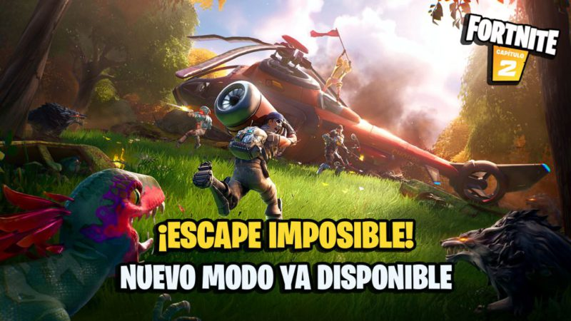 Impossible escape!  in Fortnite: how to play and get free rewards