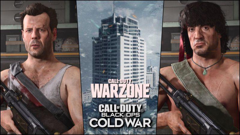 Call of Duty: Warzone black ops  cold war cómo conseguir a rambo y john mcclane héroes de acción de los 80 evento
