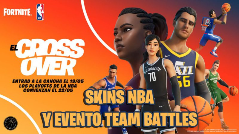 NBA x Fortnite: new official basketball skins and how to get free rewards