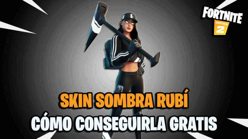 Fortnite |  How to get the Ruby Shadow skin for free and complete its challenges