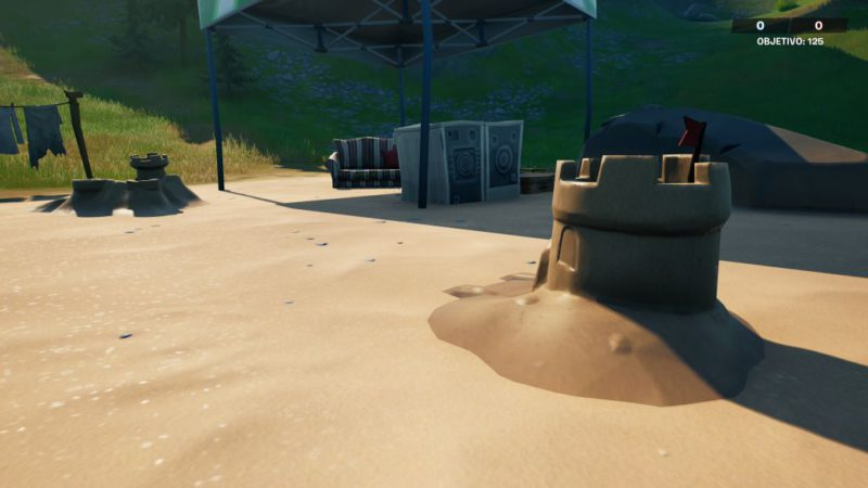 Fortnite: special sand castle locations