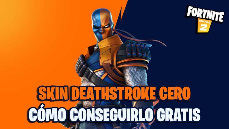 fortnite capitulo 2 temporada 6 skin deathstroke cero gratis copa fechas horarios como participar