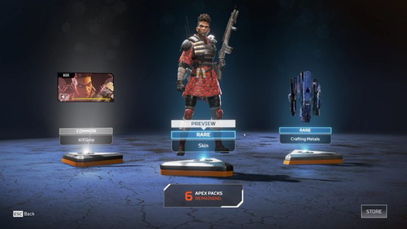 """Apex Legends and the price of cosmetics: """"Creating content costs"""""""
