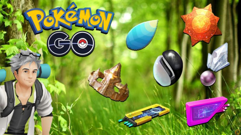 All the stones and evolutionary objects of Pokémon GO: how to get them and uses