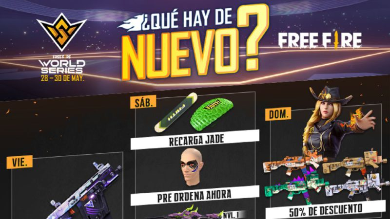 Free Fire: weekly schedule from May 28 to June 1 with Vector de la Suerte and more