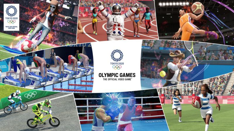 Tokyo 2020 Olympic Games - Official Video Game Shows Trailer and Release Date