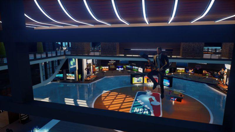 Fortnite: visit the creative headquarters of the NBA