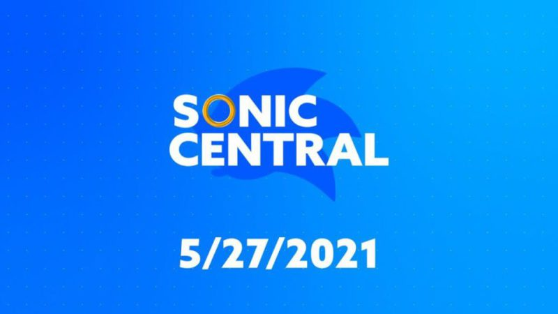 Sonic Central Event;  time and how to stream online news from SEGA