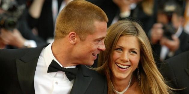 Closer and closer: Jennifer Aniston complimented Brad Pitt