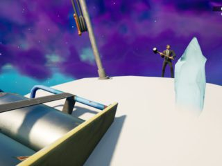 Fortnite: place a spirit crystal on the highest mountain