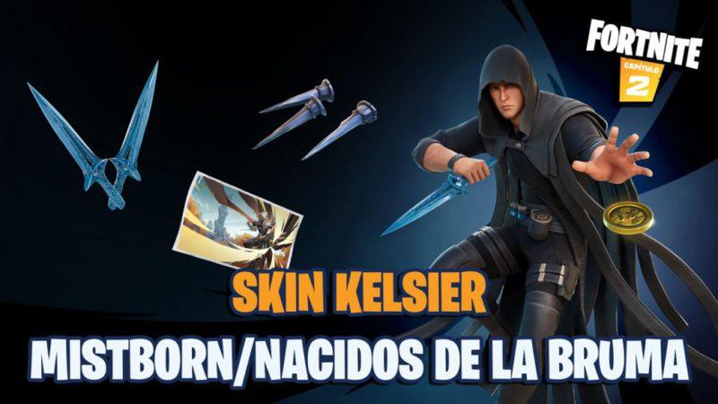 Fortnite: Mistborn / Born of the Mist Kelsier Skin Now Available;  price and contents