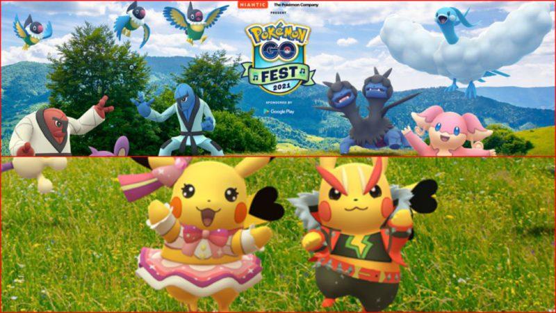 Pokémon GO Fest 2021: date, price, featured Pokémon, rewards and more
