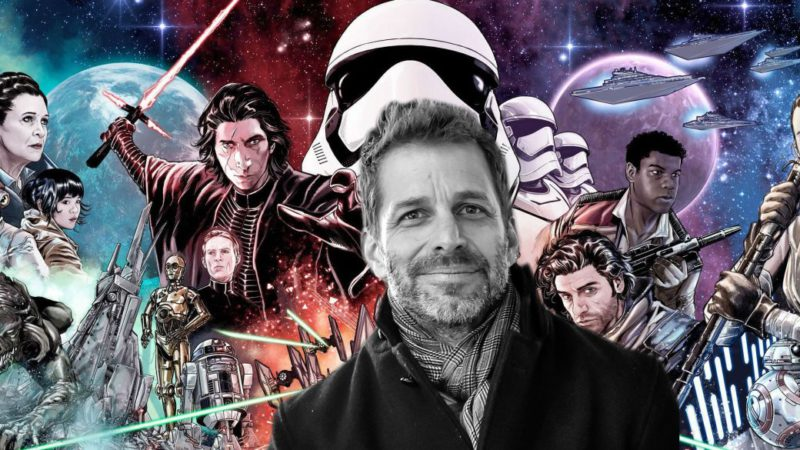 Zack Snyder confirms he was sketching a Star Wars spin-off