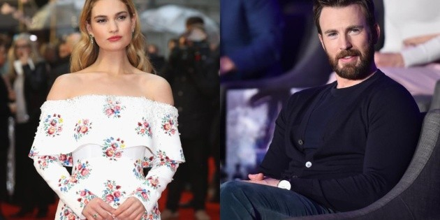 Chris Evans and Lily James were a couple ?: the truth about their relationship