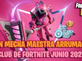 June 2021 Fortnite Club skin revealed: this is Master Mecha Arrumacos