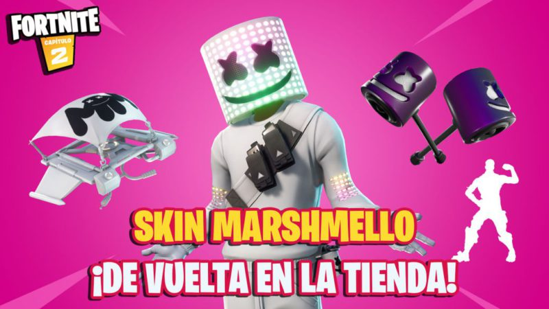 Fortnite: Marshmello returns to the store for a limited time