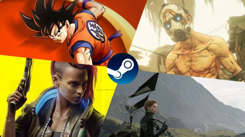 Open World Steam Deals: Cyberpunk 2077, Death Stranding, Borderlands 3 and More