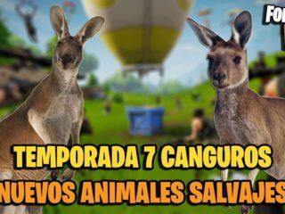 Fortnite Season 7: Kangaroos will be new wild animals