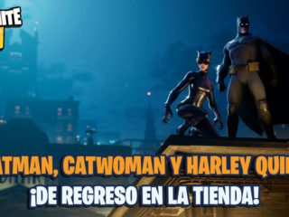Fortnite: Batman, Catwoman and Harley Quinn return to the store for a limited time