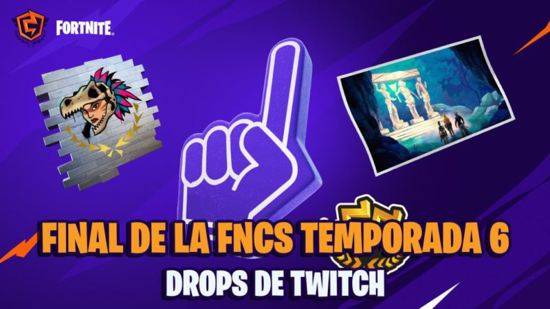 FNCS Fortnite Season 6 - Final: dates, times and how to get Twitch drops
