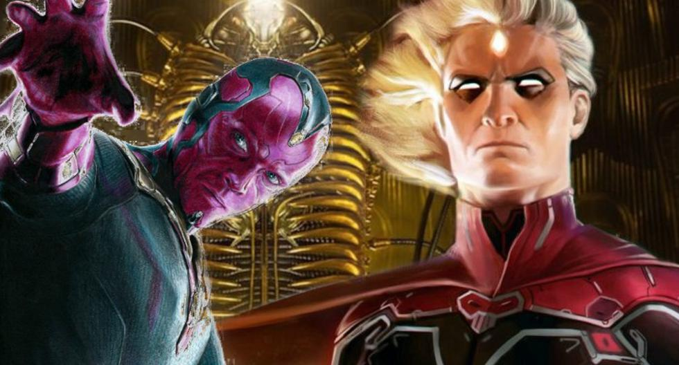 Marvel: Vision and Adam Warlock would be connected for Phase 4 of the MCU
