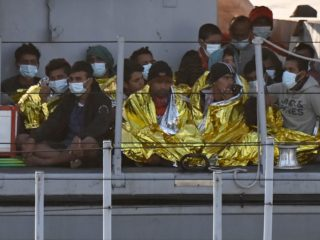 Departures of migrants to Europe by sea rise by a third as the pandemic eases