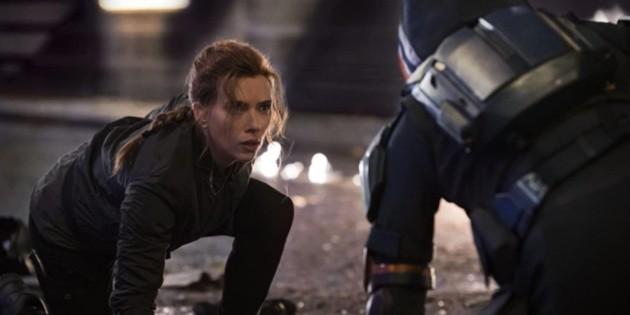 Scarlett Johansson and the stress of filming Black Widow