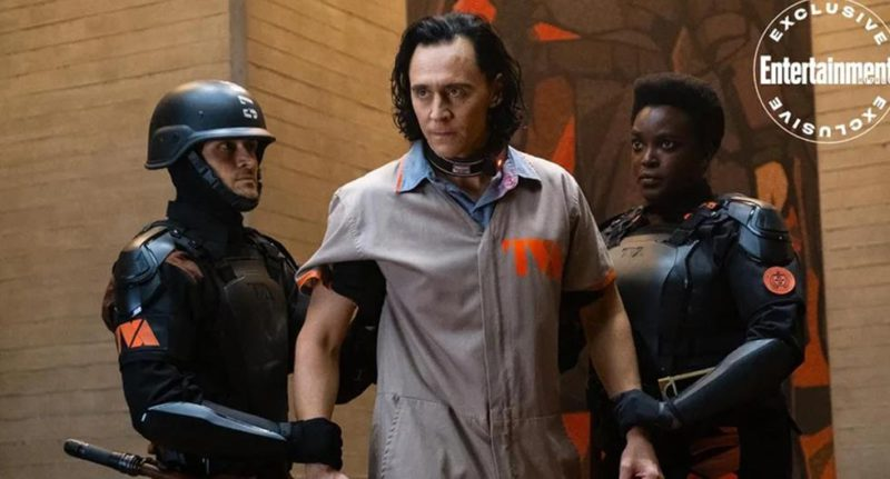 Loki is arrested in new photo from Disney Plus series