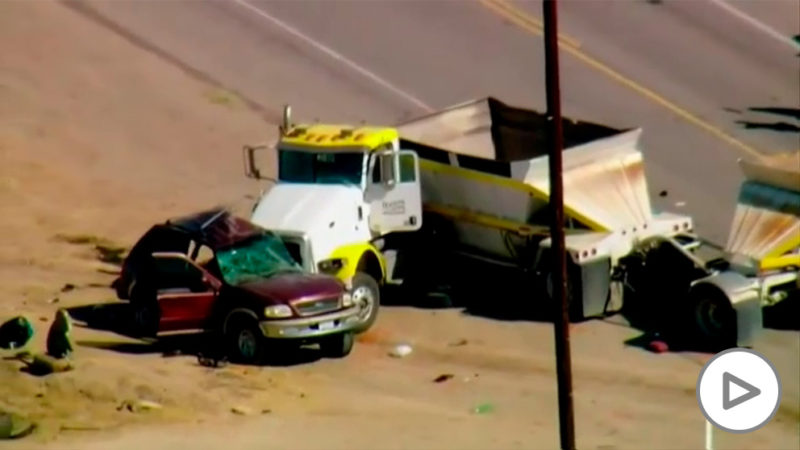 15 of the 27 people who were in a car die in an accident