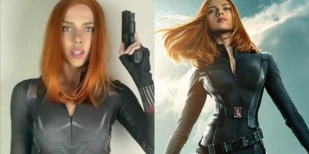 Like Jennifer Aniston: Scarlett Johansson also has an exact double