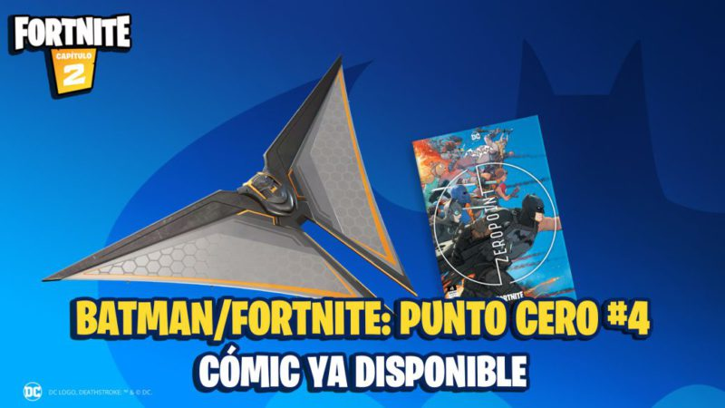 Batman x Fortnite Comic: Zero Point 4 Now Available;  where to buy and how to redeem the code