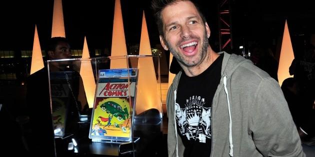 Zack Snyder's outburst against Warner Bros with Stephen Colbert
