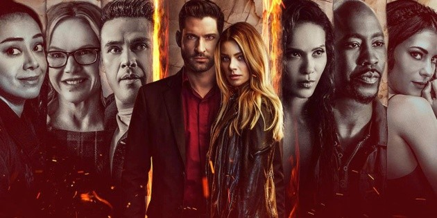 Lucifer: the actor who died in season 5B, but will return in the sixth