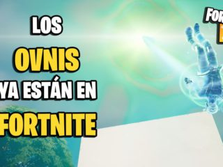 Where are the UFOs in Fortnite?  They are already in the game and they can abduct you