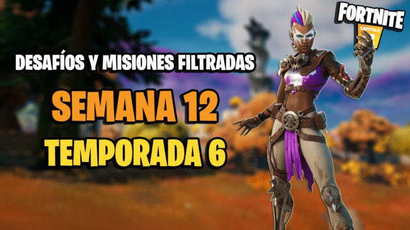 Fortnite Season 6: Week 12 Leaked Challenges and Missions