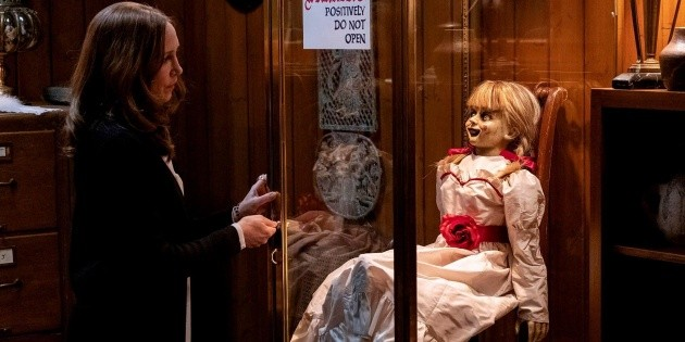 The Conjuring: how to see the order of the Annabelle doll movies saga
