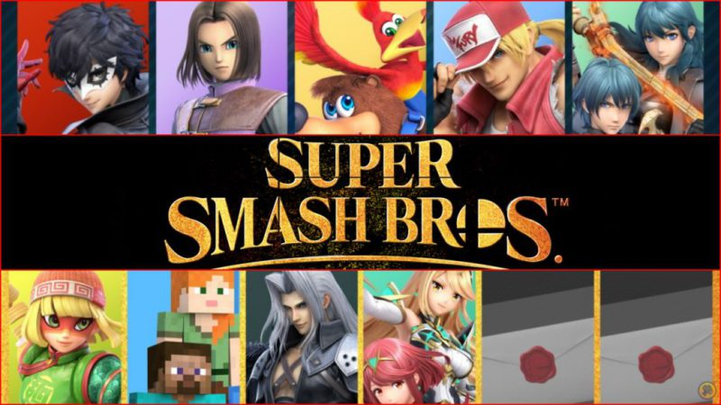 Super Smash Bros. Ultimate |  All DLC characters and how many remain to be revealed
