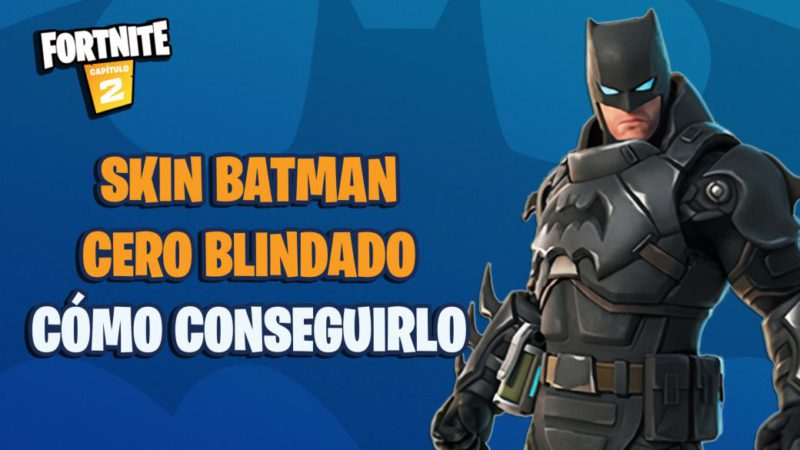 Fortnite: this is the Batman Zero Armored skin;  how to get it