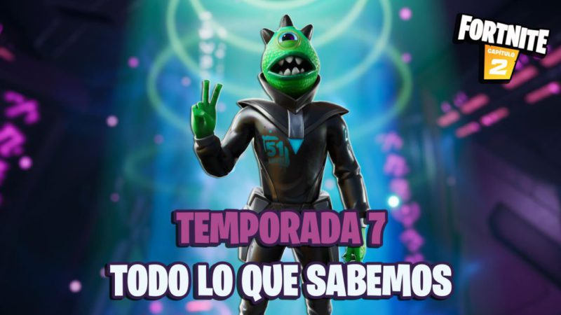 """Fortnite Season 7 """"They come"""": when it starts, final event, UFOs, teasers and much more"""