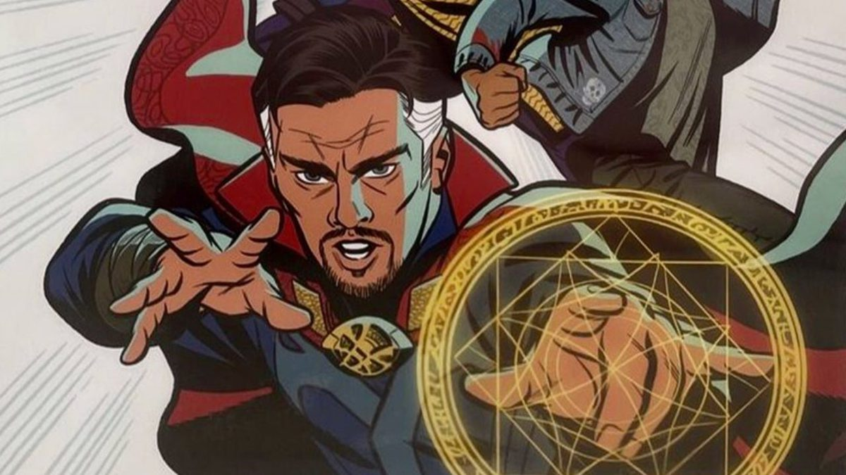 Doctor Strange in the Multiverse of Madness publishes a new art with a  classic comic style - Market Research Telecast