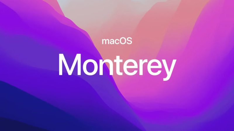 MacOS Monterey, news of the new operating system for Mac